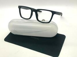 New Nike 7111 010 Matte Black Optical Eyeglasses 50-20-145MM /CASE - $58.17