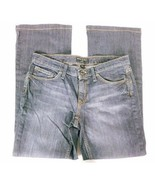 Banana Republic Women's Jeans Size 6P Petite Boot Cut Dark Wash Denim - $23.17