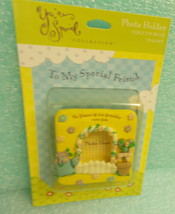 """Ensemble """"To My Special Friend Photo Holder Magnet"""" #YPM1007 UPC:7959026... - $7.92"""