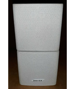 20HH59 BOSE ACOUSTIMASS DUAL CUBE SPEAKER, WHITE (WITH SOME PATINA), SOU... - $19.70
