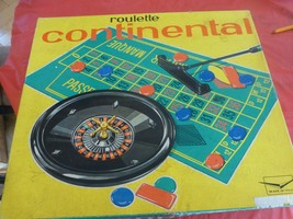 Vintage Roulette Continental Made in Italy board game casino Gambling Party - $9.32