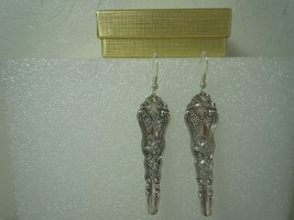 International Moselle 1906 Earrings Silverplate - $80.18