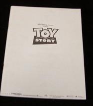 Walt Disney Toy Story 1 1995 pressbook - $17.99