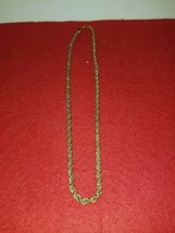 Monet Gold And Sliver Tone Necklace 19 1/2 Inches - $9.95