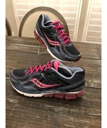 SAUCONY Echelon 5 Running Gym Training Shoes Grey Pink Womens Size 11 - $49.50