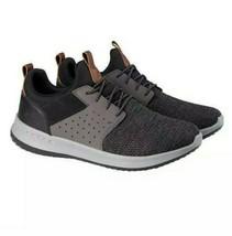 Skechers Men's Classic Fit Delson-Camden Sneakers, Black/Grey, Pick Size 9 - $39.15 CAD