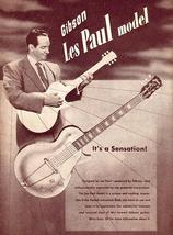 Gibson Les Paul - 1952 - Promotional Advertising Poster - $9.99+