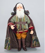 "katherine's collection Woodland Santa Claus doll Into the Woods 25"" 28-7... - $287.99"