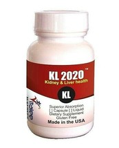 KL-2020- Rejuvenates both the Liver and Kidneys Functions (Capsule 60 ct) - $39.55