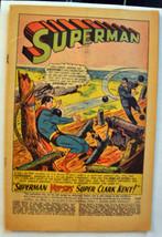 "ACTION COMICS #341 (September 1966)- ""Superman Versus Super Clark Kent"" - $8.54"