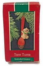 Hallmark 1988 Teeny Taster Ornament Christmas Squirrel - £9.32 GBP