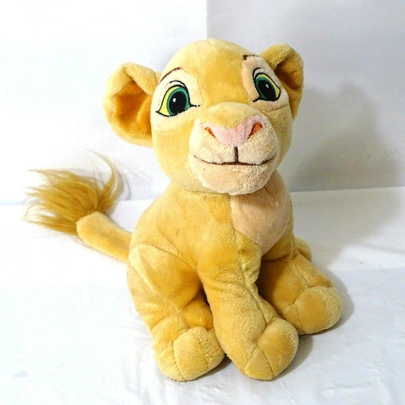 Disney Lion King Nala Cub Stuffed Plush Toy Tan 8 inch