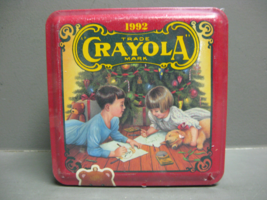 Sealed Crayola 1992 Crayola Collectible Holiday Tin - $9.89