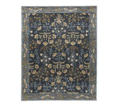 New Authentic 8'x10' Andli-01 Blue Woolen Area Handmade Rugs & Carpet - $448.00