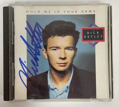 """Rick Astley Signed Autographed """"Hold Me in Your Arms"""" Music CD - COA Hol... - $79.99"""