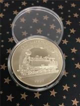 1997 Liechtenstein '125th Ann. of Railway' 5 Euro - $14.83