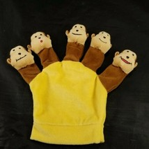 Five Little Silly Monkeys Story Hand Glove Puppet Jumping on the Bed Pig... - $12.86