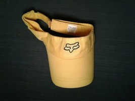 Yellow Fox Racing Strapback Visor Cap Hat (hb7) - $12.16