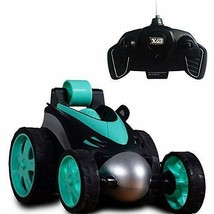 RC Vehicle Four Wheel Stunt Car, Remote Control Car, 360 Degree Rolling ... - $24.99