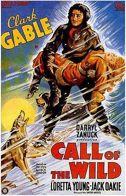 Primary image for Call Of The Wild - 1935 - Movie Poster