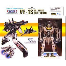 Macross Series 1 VF-1S Valkyrie Roy Focker 1/100 Scale Action Figure NEW! - $69.99