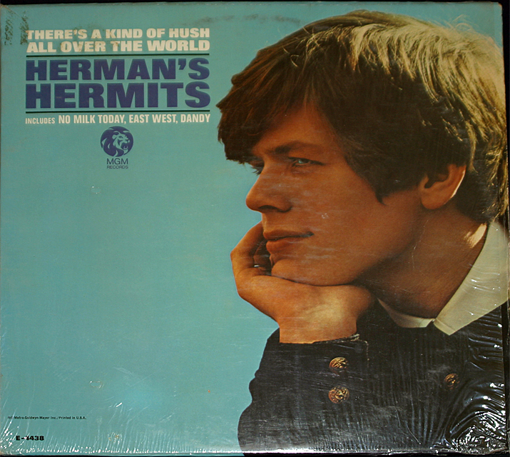 Herman s hermits  kind of hush  cover