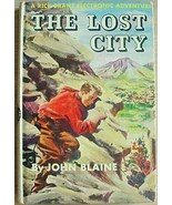 Rick Brant Electronic Adventure Mystery THE LOST CITY - $10.00