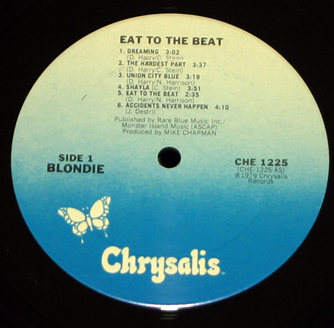 """Blondie   """"Eat To The Beat""""   LP"""