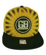 Green Bay Men's Striped Cotton Patch Style Adjustable Snapback Baseball ... - $13.95