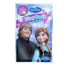 Disney Frozen Grab n Go Play Pack! 4 Crayons, 25 Stickers, 24-Page Color... - $4.93