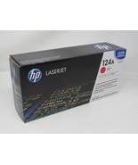 HP Print Cartridge Color LaserJet 124A Magenta Q6003A Genuine/OEM - $42.86