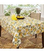 """Benson Mills Lemon Tree Indoor/Outdoor Tablecloth 104"""" Oblong - $36.00"""