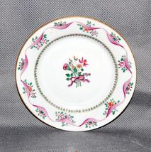 Chinese Export Porcelain Small Plate Pink Flowers Ribbon Green Enamels A... - $125.00