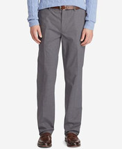New Polo Ralph Lauren Mens Stretch Classic-Fit Medium Grey 38W 32L Pants 5757-3 - $39.80