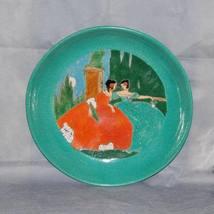 San Jose Pottery Fashion Plate Ladies Sgraffito Glazed Pottery Bowl - $1,200.00