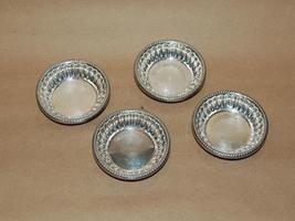 Set of 4 Vintage Silver Plate Nut Bon Bon Dishes - $45.00