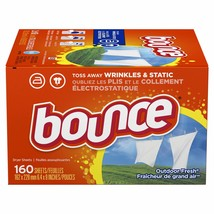 Bounce Dryer Sheets 2 Boxes 160 Each 320 Ct. Total - $19.50