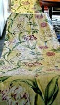 6 Yards of Floral Fabric or Hand Draped Valance - $31.68
