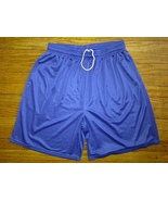 BCG Polyester Mesh Royal Blue Pockets Thick Baggy Basketball Shorts 3xl ... - $4.99
