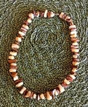 "Vintage Natural Cut Stone, 15"" Choker - $11.95"