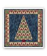 Holiday Tree IV counted canvaswork needlepoint chart w/canvas From Nancy... - $19.80