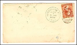 1884 Brookline Station MA Discontinued/Defunct Post Office (DPO) Postal Cover image 1