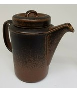 ARABIA RUSKA MID-CENTURY MODERN COFFEE SERVER/POT WITH LID, PERFECT COND... - $89.00