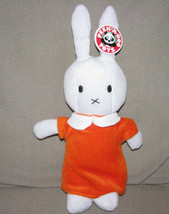 "MIFFY STUFFED PLUSH BUNNY RABBIT DICK BRUNA PEEK A BOO TOYS 14"" ORANGE D... - $39.59"