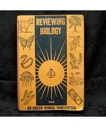 Reviewing Biology by Mark A. Hall  1955 Amsco School Publ - $3.99