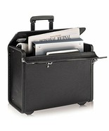 Rolling Business Case Dual Combination Locks Laptop Compartment Travel B... - $92.78