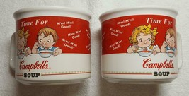 Campbell's Soup Mugs Collectible Houston Harvest Vintage 1998 - Lot of 2 - $10.00