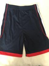 Neuf adidas Blanc Rouge Bleu Amérique USA Garçons 2 Pièce T-Shirt & Short Set image 4