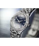 Ladies Elgin La Defense 24mm Quartz Diamond Dress Watch, c.2000s Swiss J... - $565.20