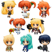 Lyrical Nanoha: The Moive 1st Mascot Relief Magnet Figure (12 Pieces) Box NEW! - $89.99